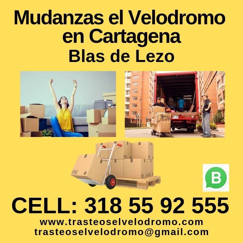 Mudanzas el Velodromo en Cartagena en Blas de Lezo