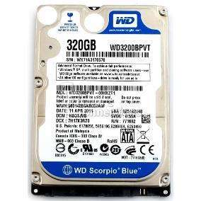 Discos de 320gb <strong>notebooks</strong> Semi Nuevos c/gtia