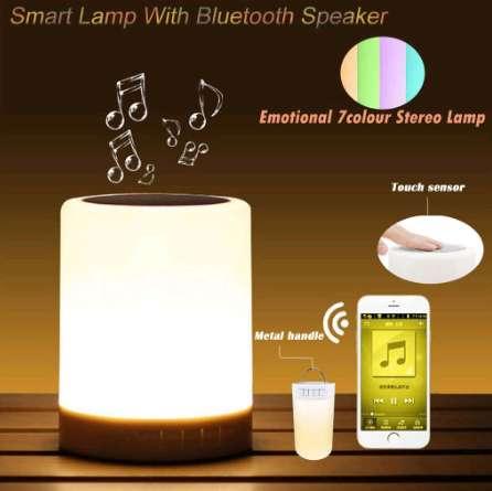 Parlante Bluetooth Led Colores Touch Domicilio Gratis