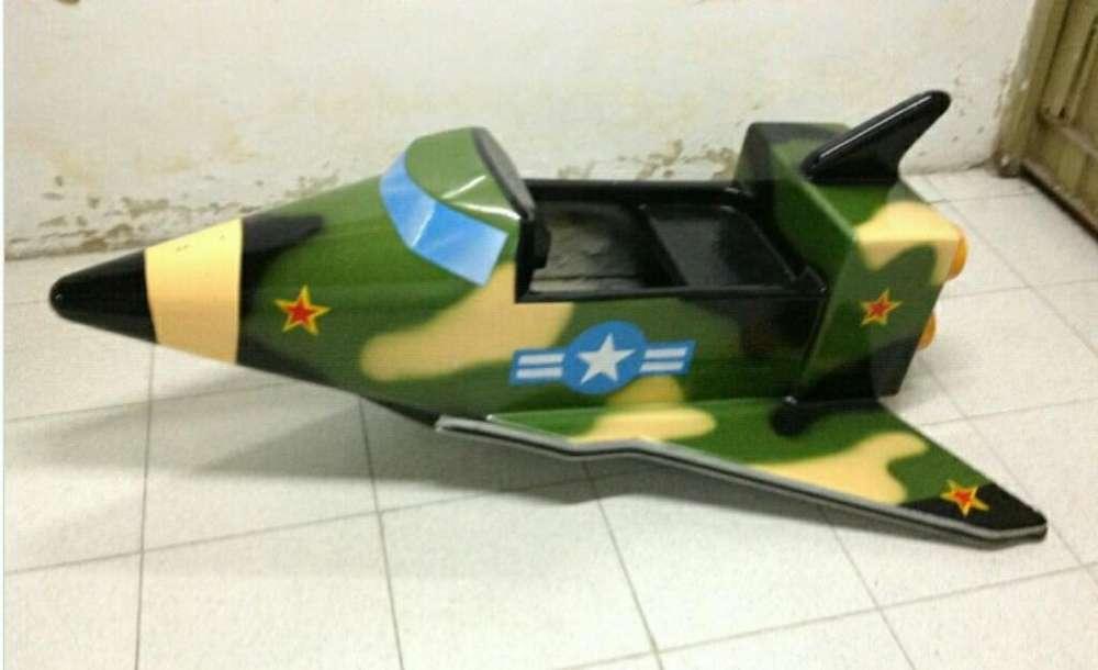 Avion Militar Maquina Infantil
