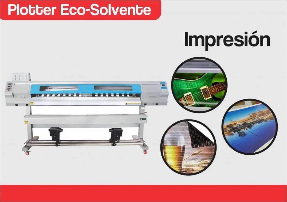 Plotter Eco-Solvente / Sublimacion 2 cabezal DX5 NEUVO