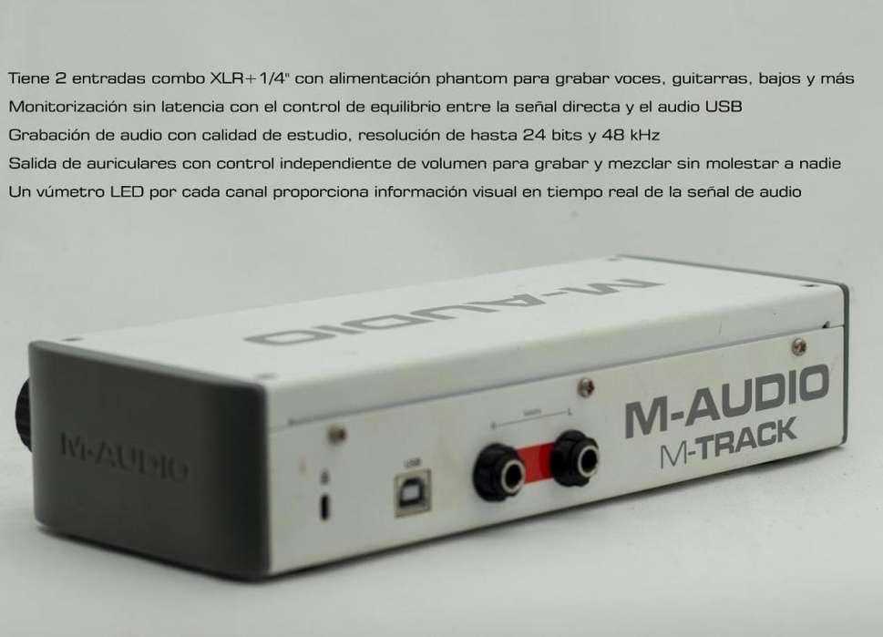 Kit de grabación M-Audio