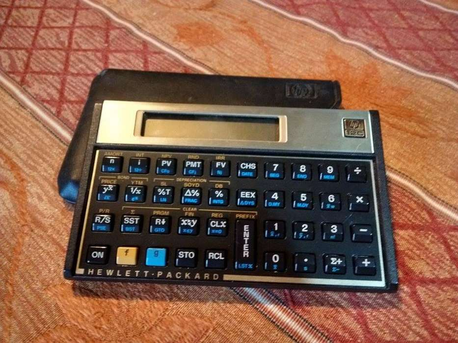 <strong>calculadora</strong> Financiera Hp 12c Excelente