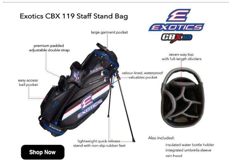 Bolsa <strong>golf</strong> Staff Exotics CBX119