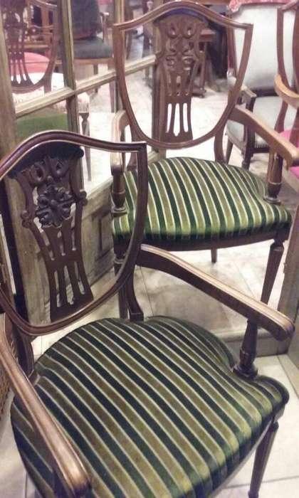 elegantes sillones de estilo INGLES