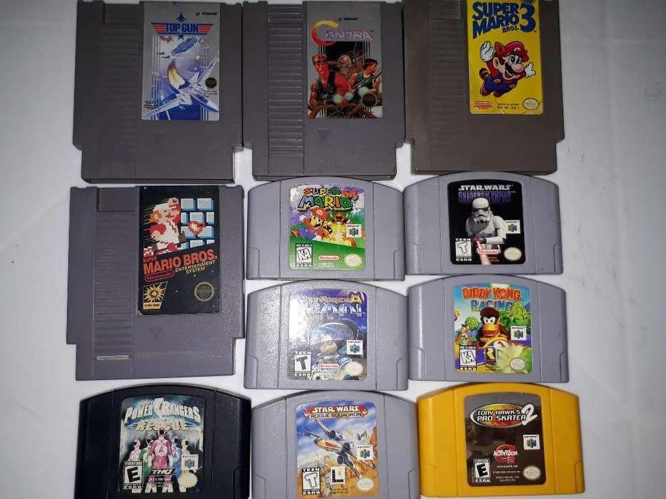 Juegos de Nintendo Y Nintendo 64