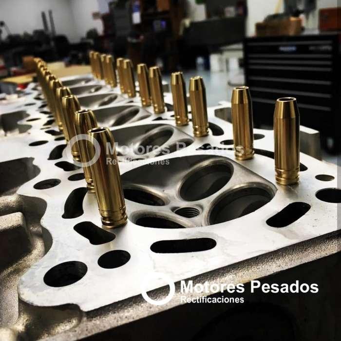 Reparamos todo tipo de tapas de cilindro de aluminio o fundición