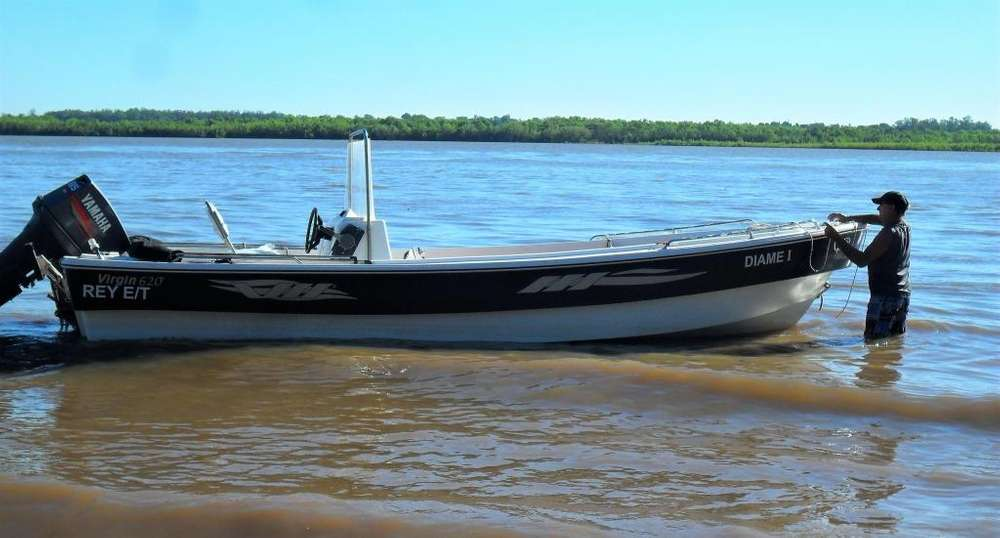 vendo traker virgin 6,20m con yamaha 85 hp