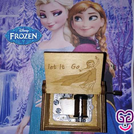 Frozen Let it Go Music Box