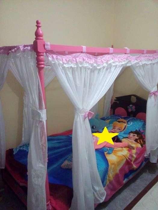 Venta de Cama Princesa en madera. 3146322371