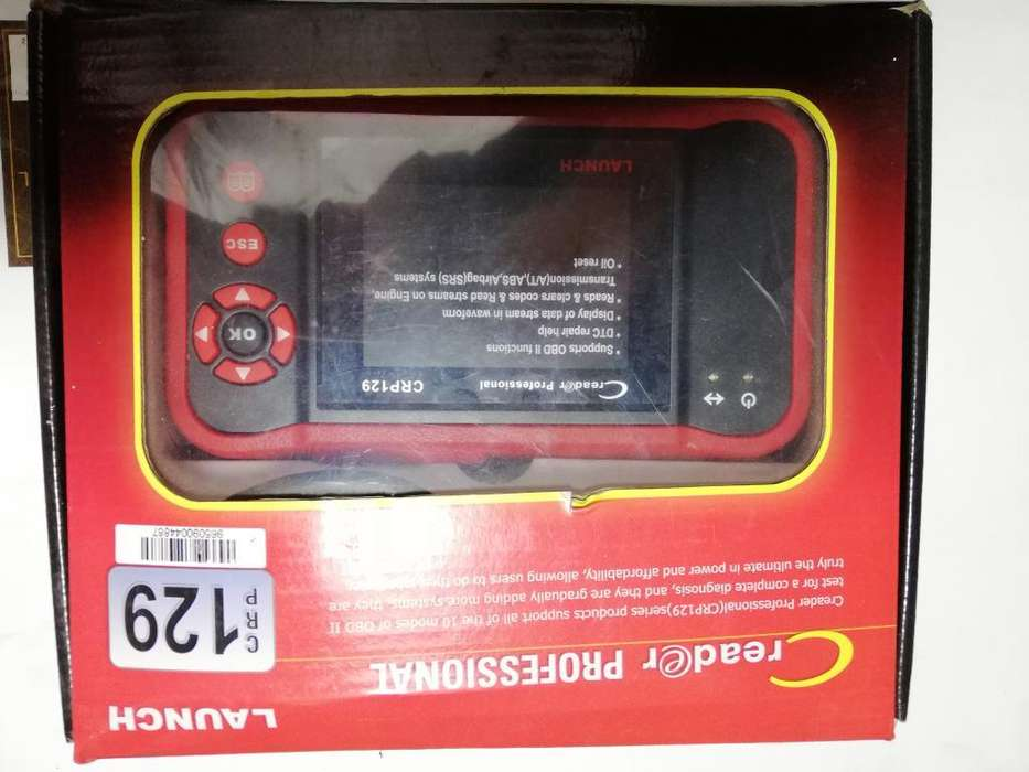 Scanner Obd Ii Launch Crp 129.