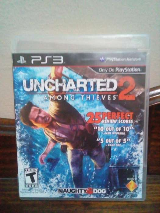 Uncharted 2 PS3 Juego Play Station 3