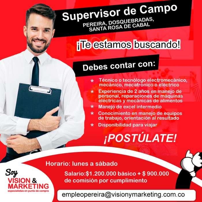SUPERVISOR DE CAMPO