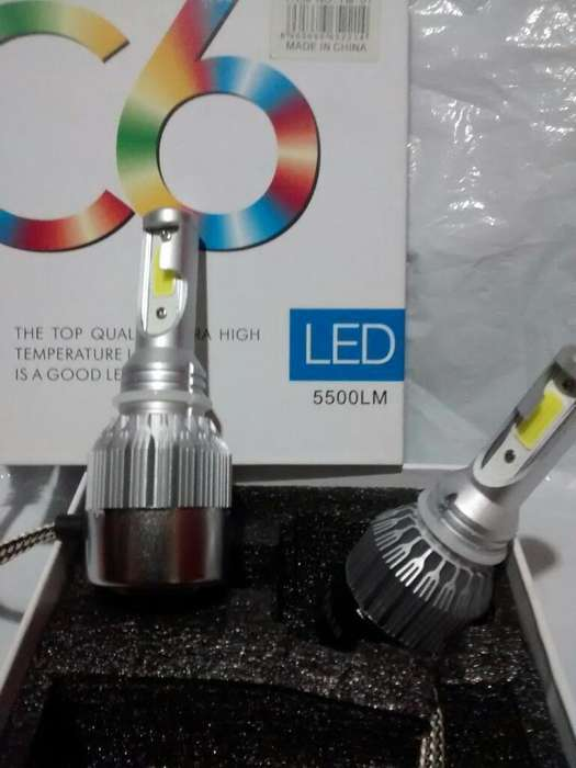 Luces Led H4. Supre White