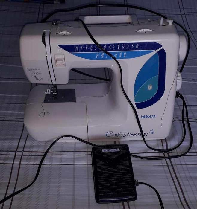 Maquina de Coser portátil Yamata Multifuncion