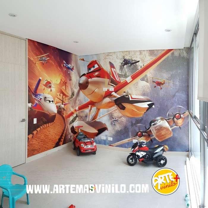 Foto Murales Infantiles