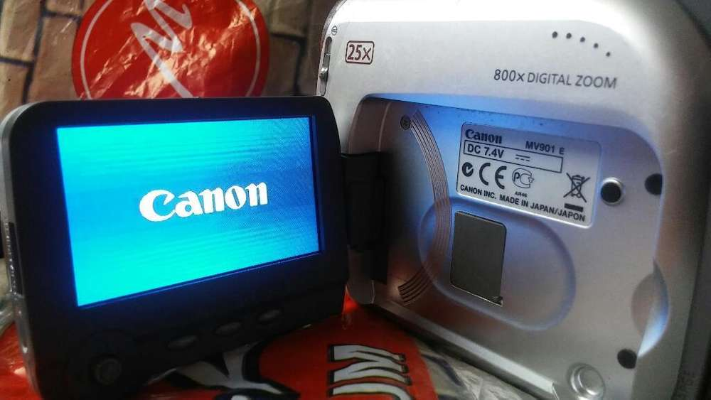 Remato Filmadora Cannon 25x Mv 901