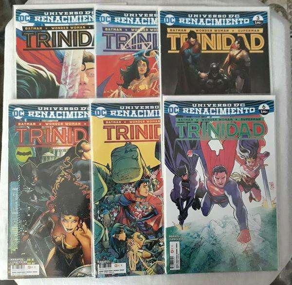 Comics Trinidad Renacimiento nuevos ecc españa