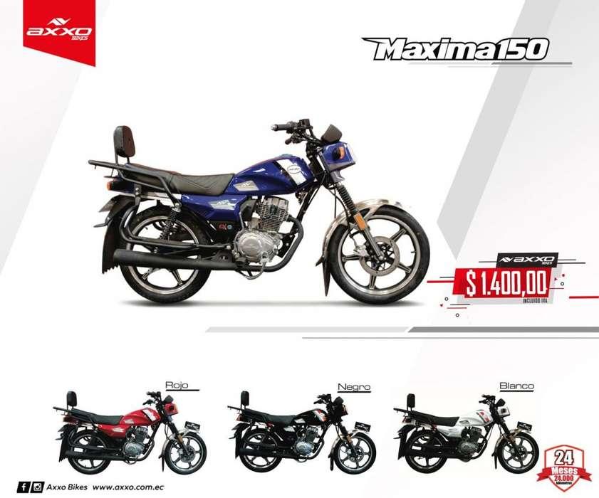 Moto maxima 150