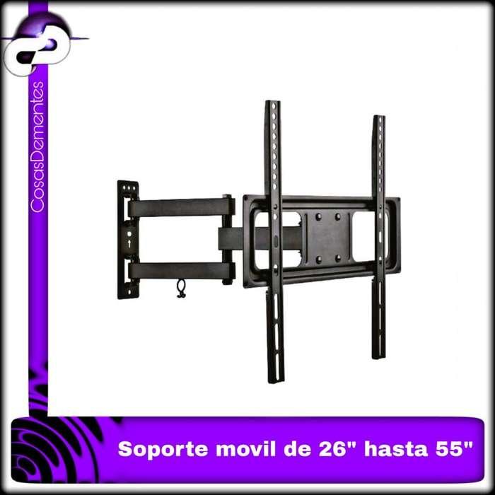 """SOPORTE TV MÓVIL DE 26"""" HASTA 55"""""""