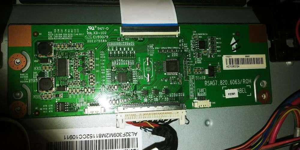 Placa T-con Tv Led Smart Hisense 32 Modelo Hle3215rtflex