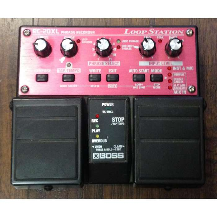 PEDAL LOOPER BOSS RC-20XL