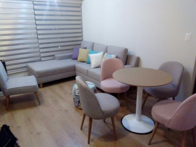 Sala comedor moderna estilo vintage - Lima