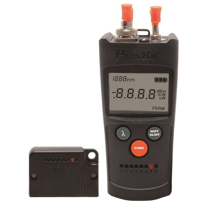 Medidor De Potencia Óptica Pro'skit Mt7602