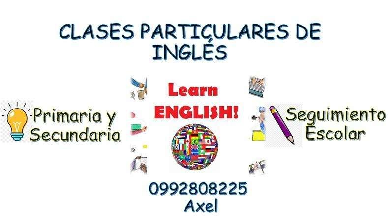 Clases particulares de Inglés ( nivel primaria y escolar ) .