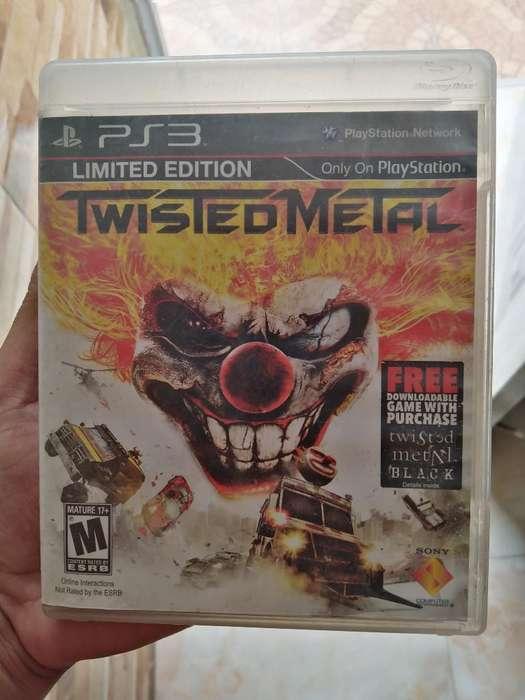 Se Vende Juego de Ps3 Twisted Metal