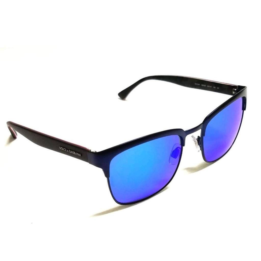 e2b98ea1e8 Lentes Gafas De Sol Dolce Gabbana Dg2148 Azul Espejado Para Hombre Y Mujer  Ray Ban Oakley