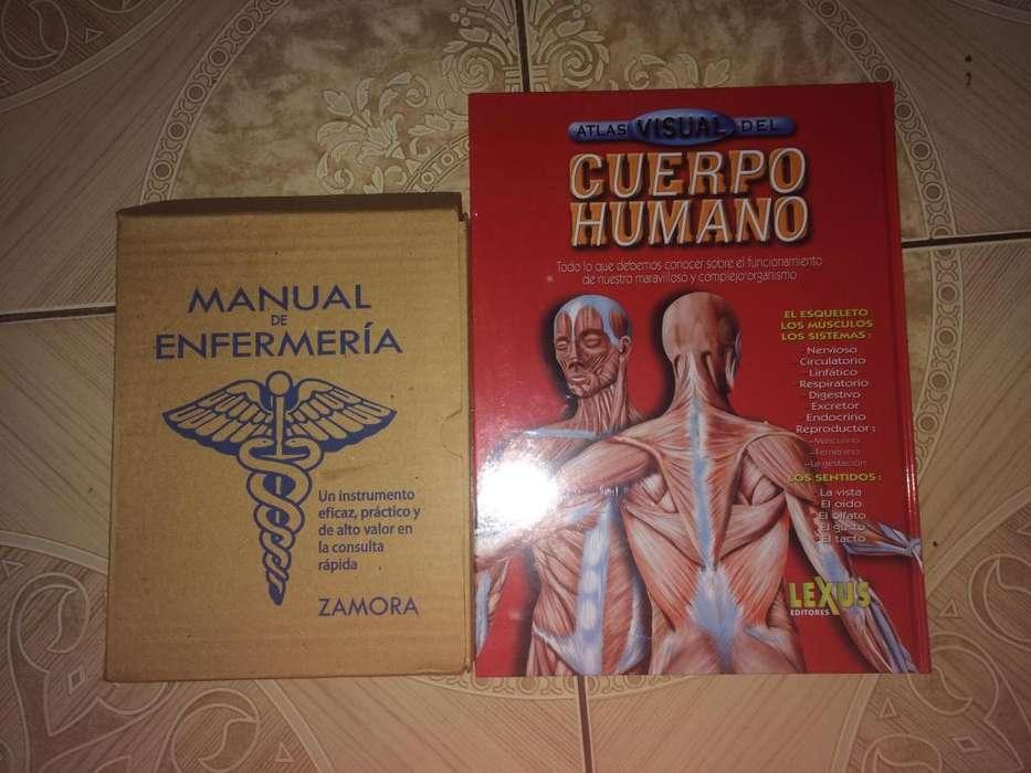 Manual de Enfermeria (Atlas) ; Cuerpo Humano (Atlas visual)