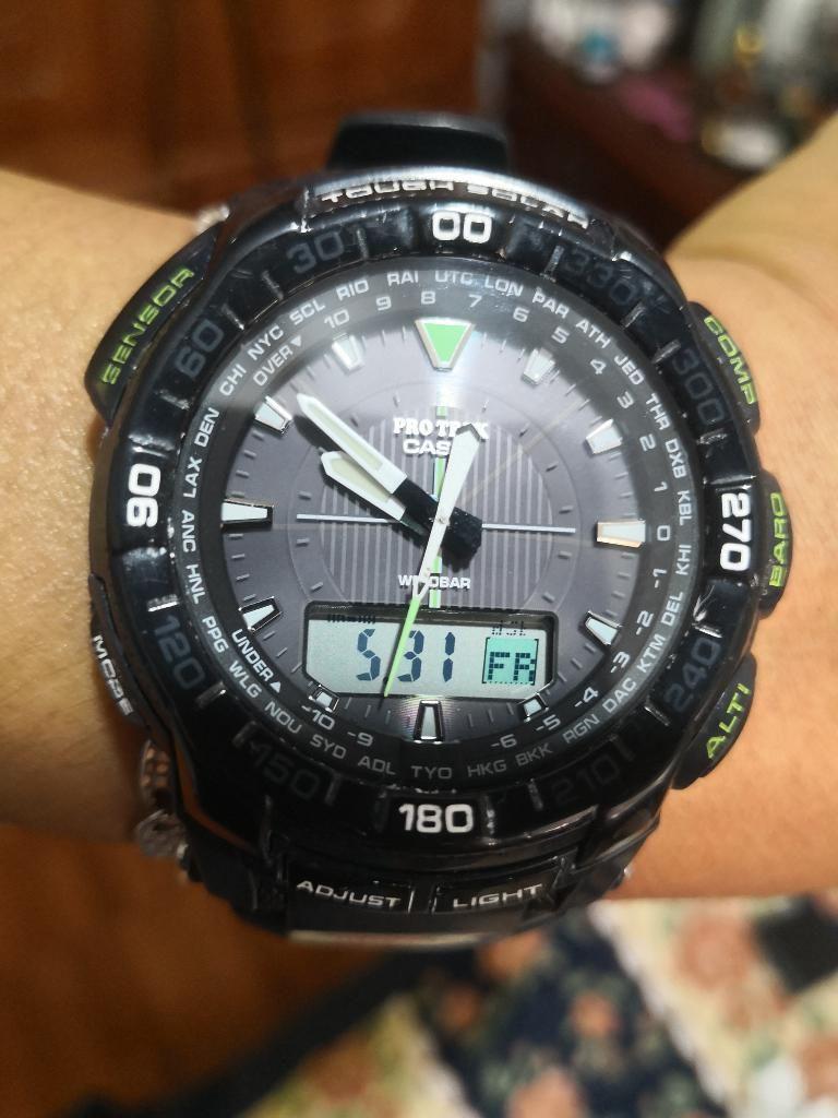 a44d4218e18f Elegante Reloj Casio Protrek Triple Sens - San Juan de Pasto
