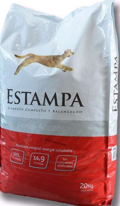 Alimento Perro Adulto Estampa – X 20 Kg