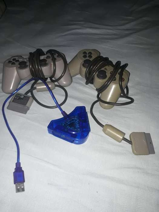 Controles Play Adaptador Pc