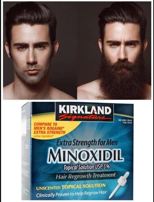 MINOXIDIL Kirkland 5 Original. Caja Sellada 6 frascos.