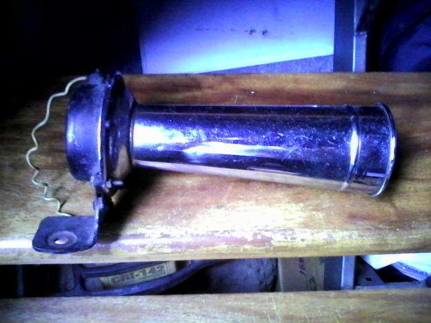 Bocina BOSCH alemana 12 volts antigua
