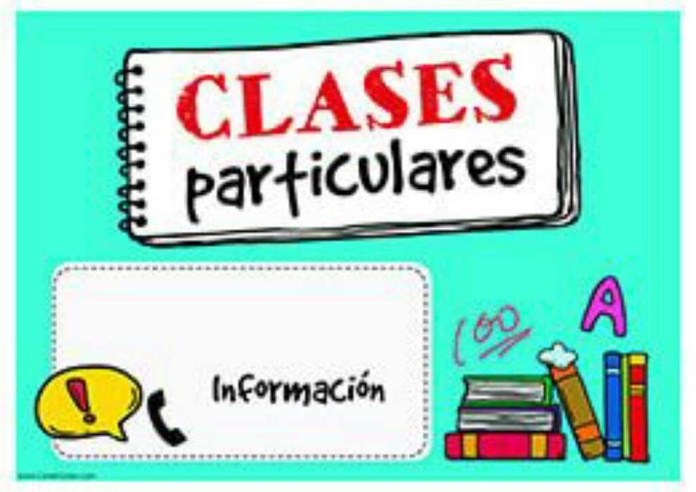 Clases Particulares Nivel- Primaria