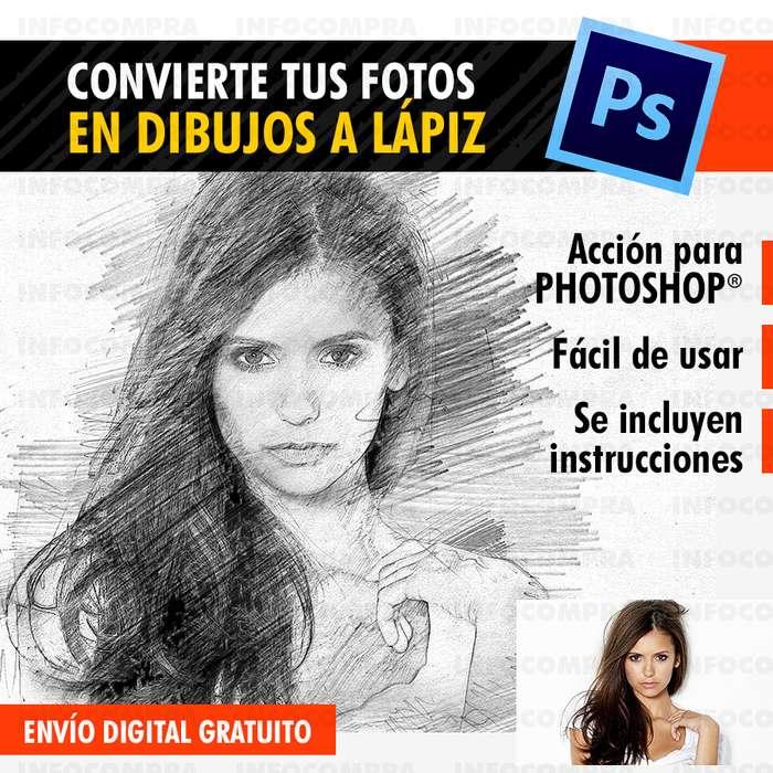 Convierte Tus Fotos En Dibujos A Lápiz Con Photoshop