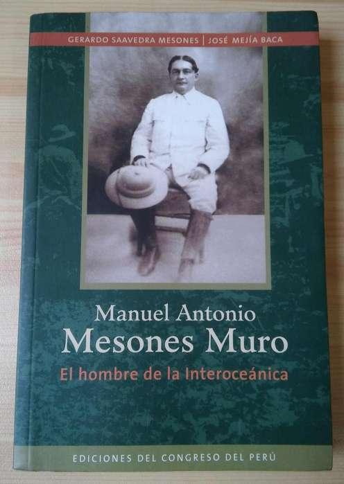 Manuel Antonio Mesones Muro. El hombre de la interoceánica