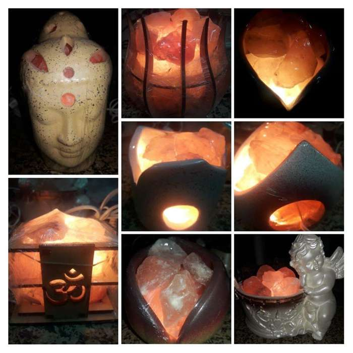 lamparas de sal