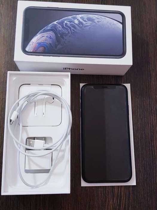 iPhone Xr 64 Gb Black en Garantia.