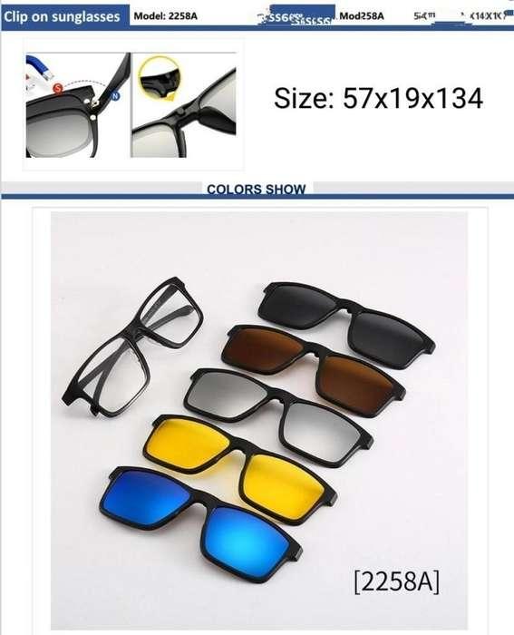 Lentes Marcos Armazón Mas 5 Gafas de Sol