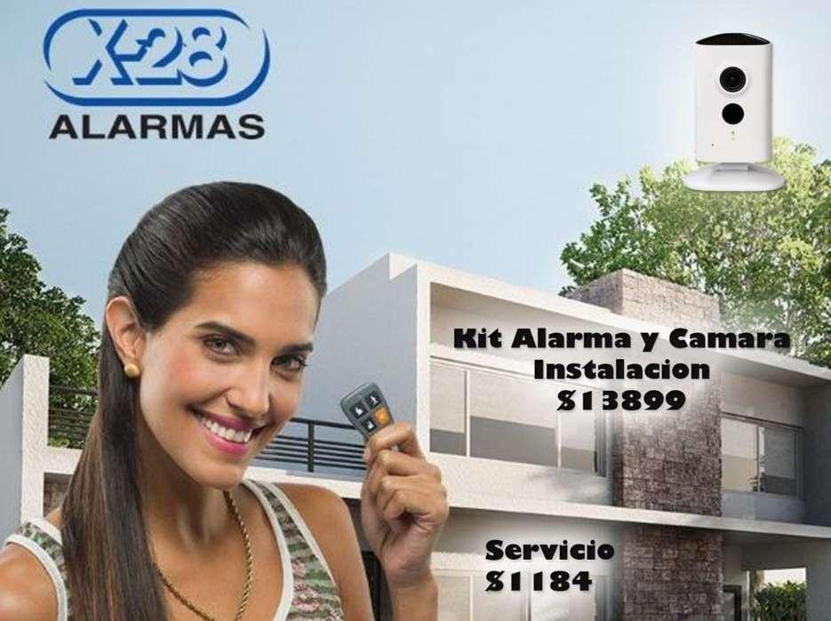 Alarma Casa X 28 Instalación Mas Camara