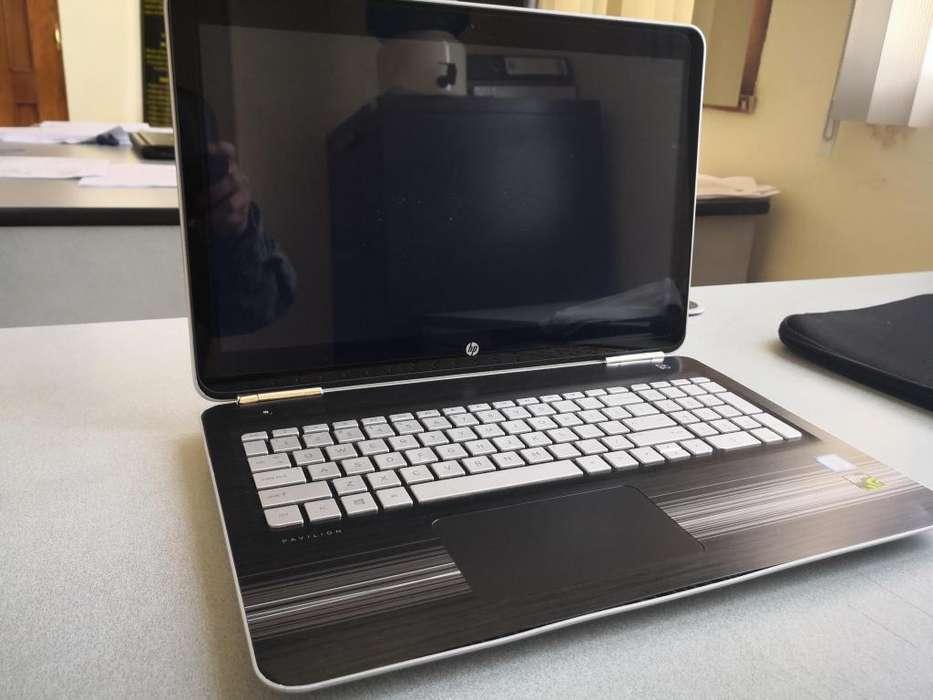 Laptop HP core i7 gaming como nueva