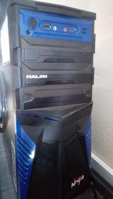 SUPER REMATE PC COMPLETA AMD A4 Y MONITOR LG