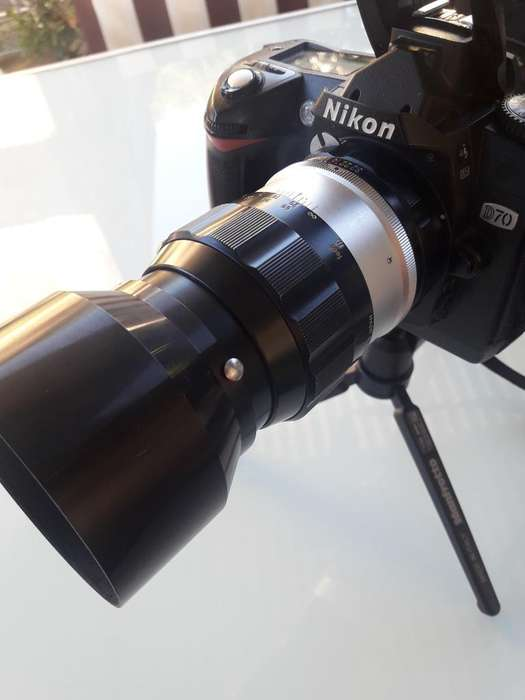 Lente Manual Nikon 135 Mm