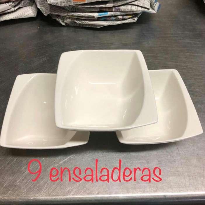 9 ensaladeras