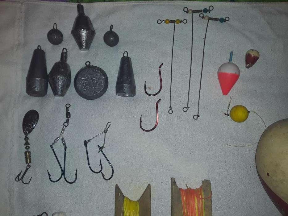 Plomadas Y Lineas de Pesca
