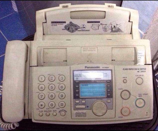 Teléfono/<strong>fax</strong> Panasonic